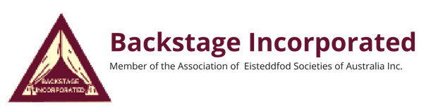 backstage incorporated logo and text